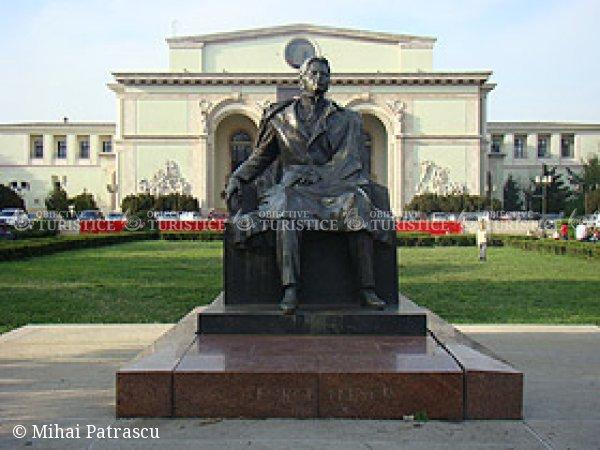 Statuia lui George Enescu