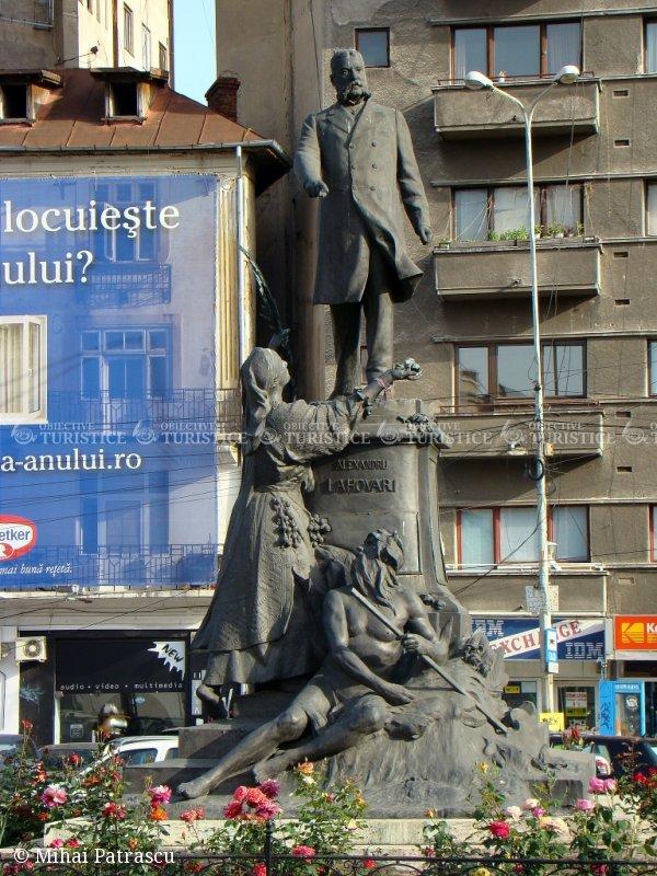 Statuia lui Alexandru Lahovary