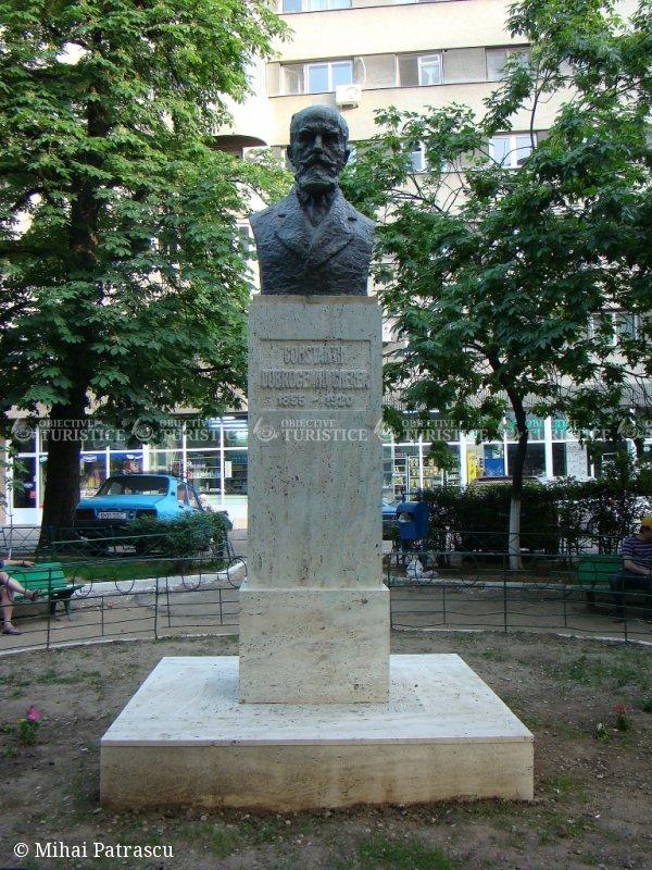 Bustul lui Dobrogeanu Gherea