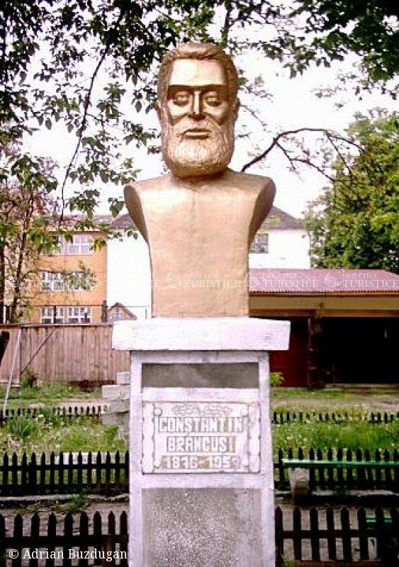 Bustul lui Constantin Brancusi