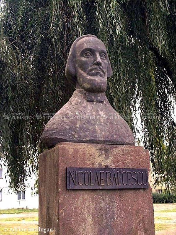 Bustul lui Nicolae Balcescu