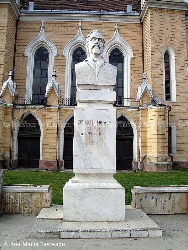Bustul lui Ioan Mihaly