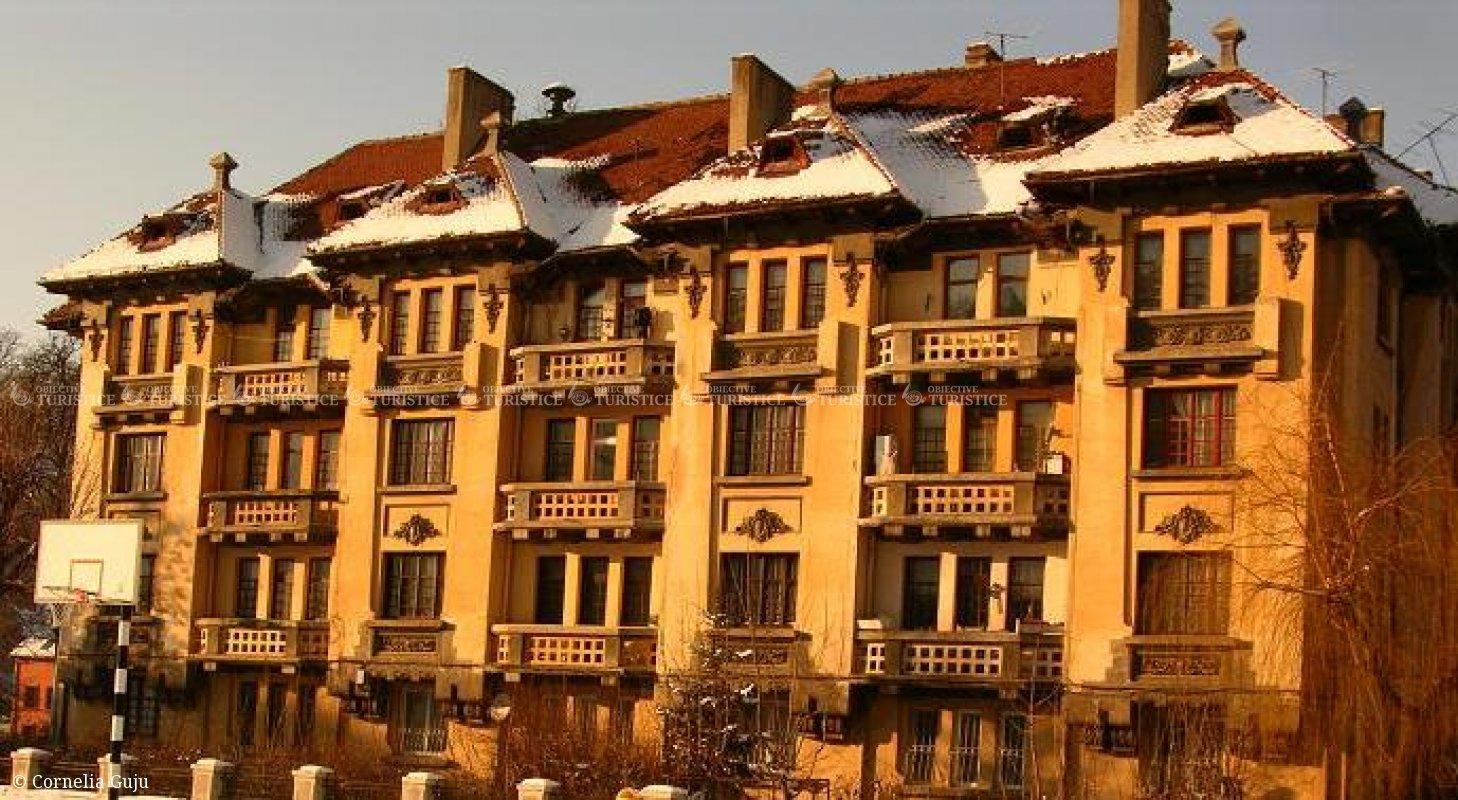 Fosta casa a profesorilor liceului Andrei Saguna