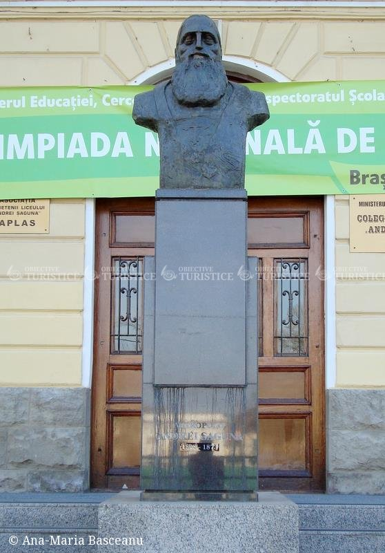 Bustul lui Andrei Saguna