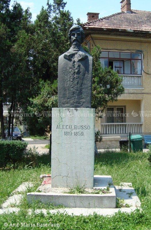 Bustul lui Alecu Russo