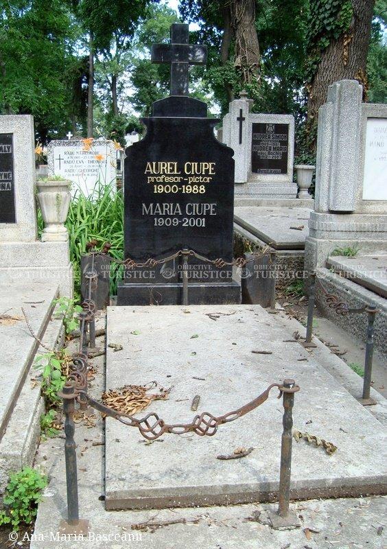 Mormantul lui Aurel Ciupe