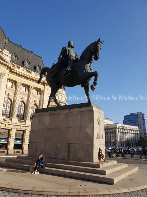 Statuia ecvestră a Regelui Carol I