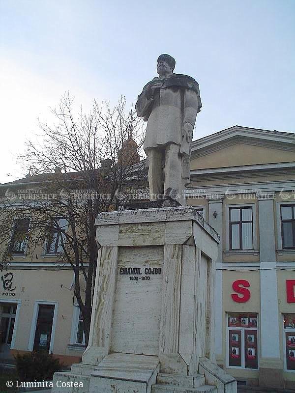 Statuia lui Emanuil Gojdu