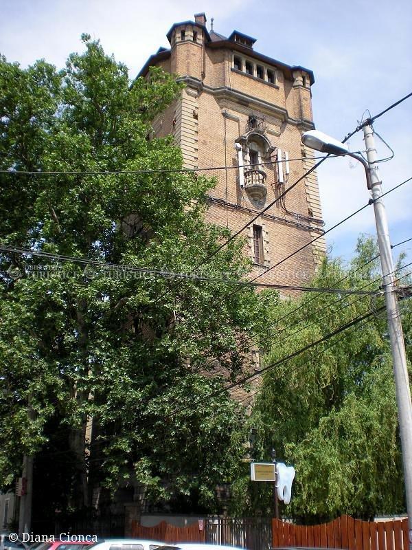 Vechiul turn de apa