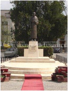 Statuia lui Vladimir Ghika