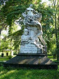 Monumentul inchinat lui Barbu Stirbey