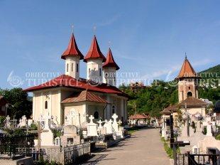 Biserica in Cimitirul Eternitatea