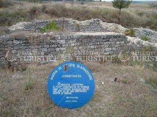 Ruinele cetății de la Adamclisi