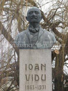 Statuia lui Ioan Vidu