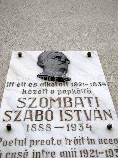 Casa poetului preot Szombati Szabo Istvan
