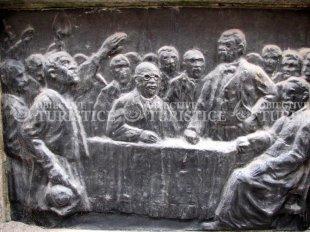 Bustul lui Coriolan Brediceanu