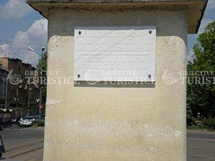 Monumentul ridicat in memoria eroilor Revolutiei de la 1989