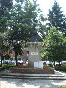 Bustul lui Mihai Eminescu