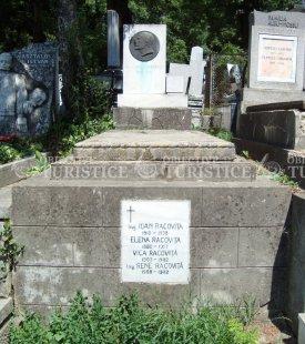 Mormantul lui Emil Racovita