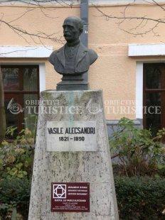 Bustul lui Vasile Alecsandri